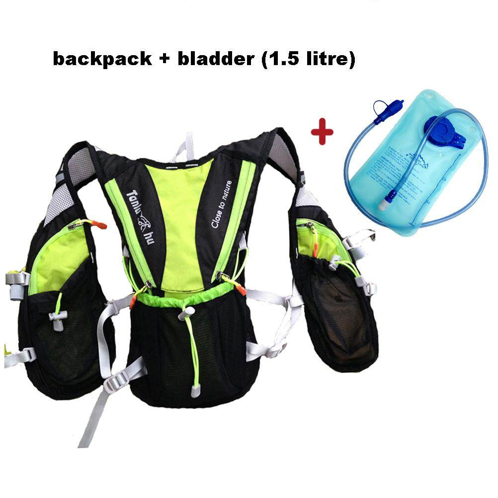 ULTRA-TRI Lightweight Hydration Vest Pack Outdoor Sport Bags Trail Running Hiking Cycling Water Bladder Backpack | Lazada PH