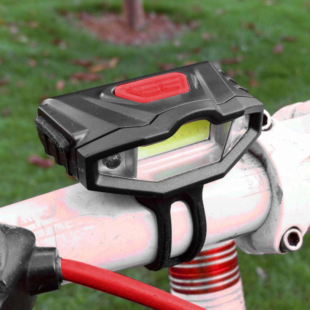 USB Rechargeable Waterproof Bicycle Bike LED Front Rear Tail Lamp Head Light NEW - intl
