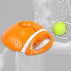 Veecome Portable Tennis Trainer Professional Dispenser Strong Base + Durable Tennis By Veecome.