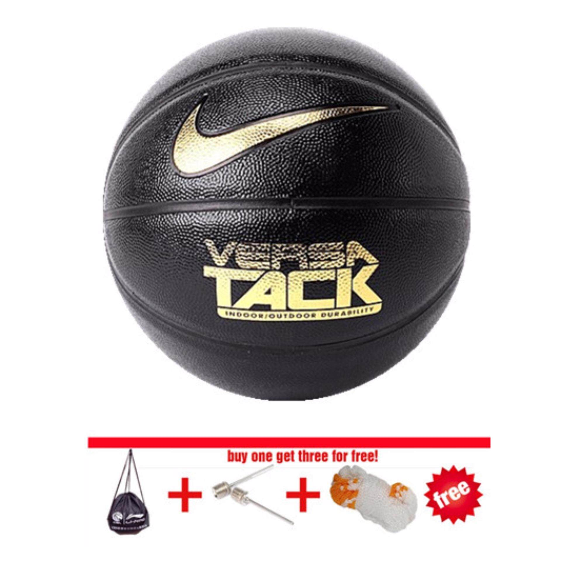 Versa Tack Basketball Indoor And Outdoor Wear Non Slip Leather Size7 Street (black) By Enjoy House.