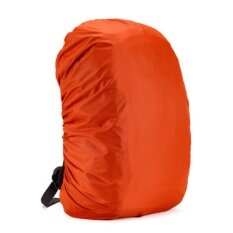 095168cbae9c Waterproof Bag Backpack Rucksack Rain Dust Cover Travel Camp Hiking Outdoor  Pack orange 45L
