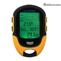 Waterproof Fr500 Multifunction Lcd Digital Altimeter Barometer Compass By Rainbowonline.