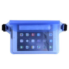 Waterproof Pouch Bag Case With Waist Strap For Beach, Swimming, Boating, By Welcomehome.