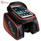 6.2Inch Waterproof Touch Screen Bicycle Bike Cellphone Case Holder Pouch Bag New