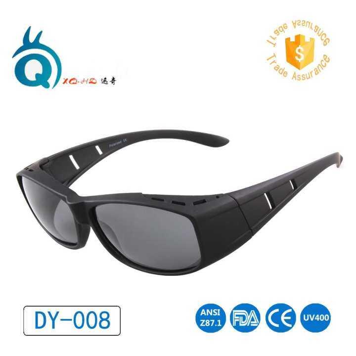 8cb71ed30a6 Wear Over Prescription Glasses Polarized Lens Covers Sunglasses Fit Over  Sun Glasses