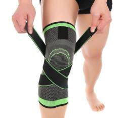 Hình ảnh Weiyue-1PC Outdoor 3D Weaving Pressurization Brace Cycling Knee Support Durable