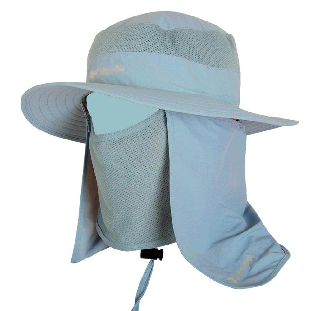 ad1939849ae LD PRO Wide Brim Bucket Hat Outdoor 360 degree Sun Protection Fishing Hat  With Removable Neck