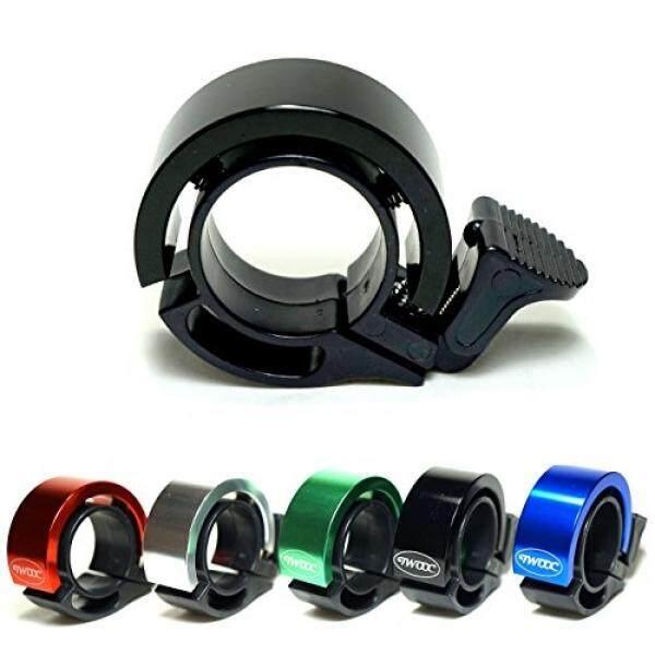 WW Suku Cadang Sepeda WW (Harapan Baik) Bel Sepeda 【Q-Bell】stylish dengan Terang Suara (Hitam)-Intl