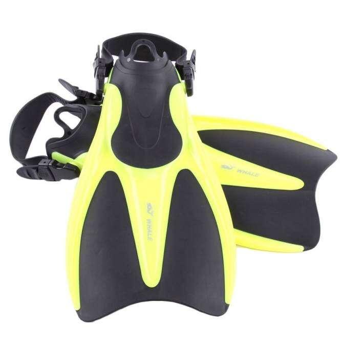 Ikan Paus Snorkelling Menyelam Renang Fins Dewasa Comfort Fleksibel Renang Sirip Submersible Kaki Sirip Sirip Olahraga Air Malaysia-Internasional