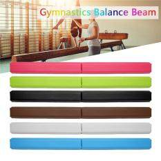 Yoga Folding Balance Beam Gymnastic Gym Kindergarten Training Soft Non-Slip Brown By Audew.