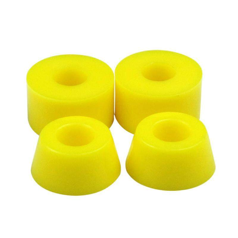 Giá bán yooc PU Skateboard Custom Bushings Bearings Shock Absorber (Yellow) - intl