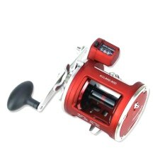 YUMOSHI ACL 12+1BB Round Baitcast Reel with Counter Left/Right Hand for Jigging Trolling in Saltwater Specification:50D left hand
