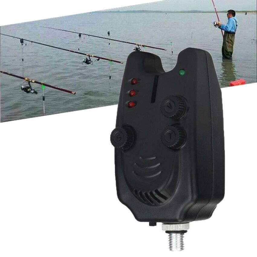 ZR Tinggi Sensitivity LED Fi Bite Lonceng Alarm Elektronik untuk Pancing Throwing Batang-Internasional