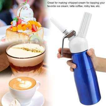 500 mL ที่ทำวิปปิ้งครีม Foamer แบบพกพาเครื่องทำวิปปิ้งครีมสำหรับกาแฟขนมหวาน