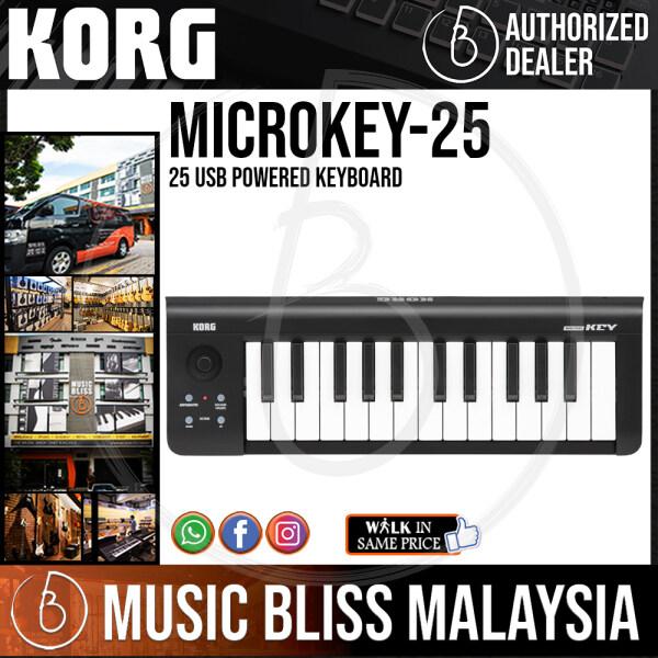 Korg microKEY 25 USB Powered Keyboard (microKEY-25 / microKEY25) Malaysia
