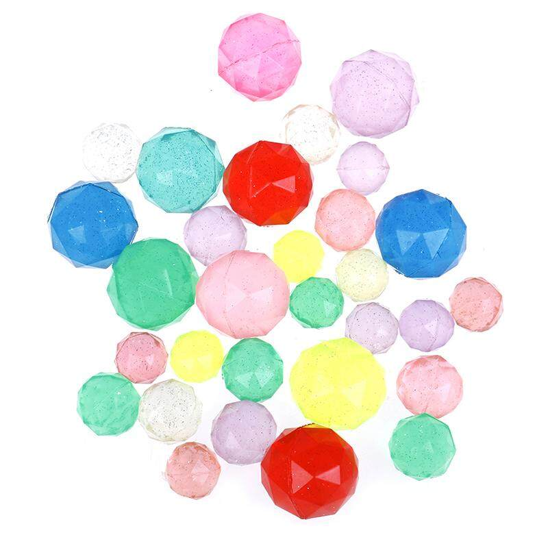 Flyingcloud Novelty 5pcs/lot Diamond Shape Bouncing Ball Child Elastic Rubber Ball By Flying Cloud.