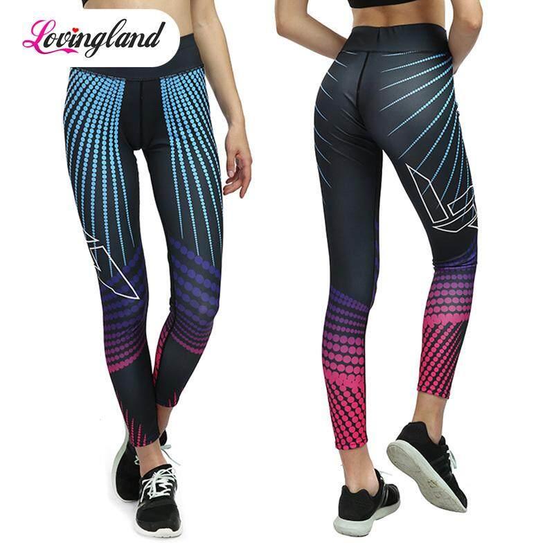 267807876f9d8 LD Sport Pants Women Sexy Legins Sport Fitness Elastic Gym Clothes Yoga  Leggings Running Tights