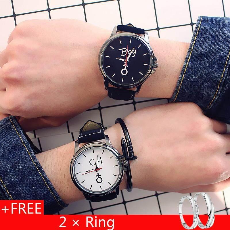 49aa00d84 Xinhengli Couple Watches Fashion Korean Middle School To See