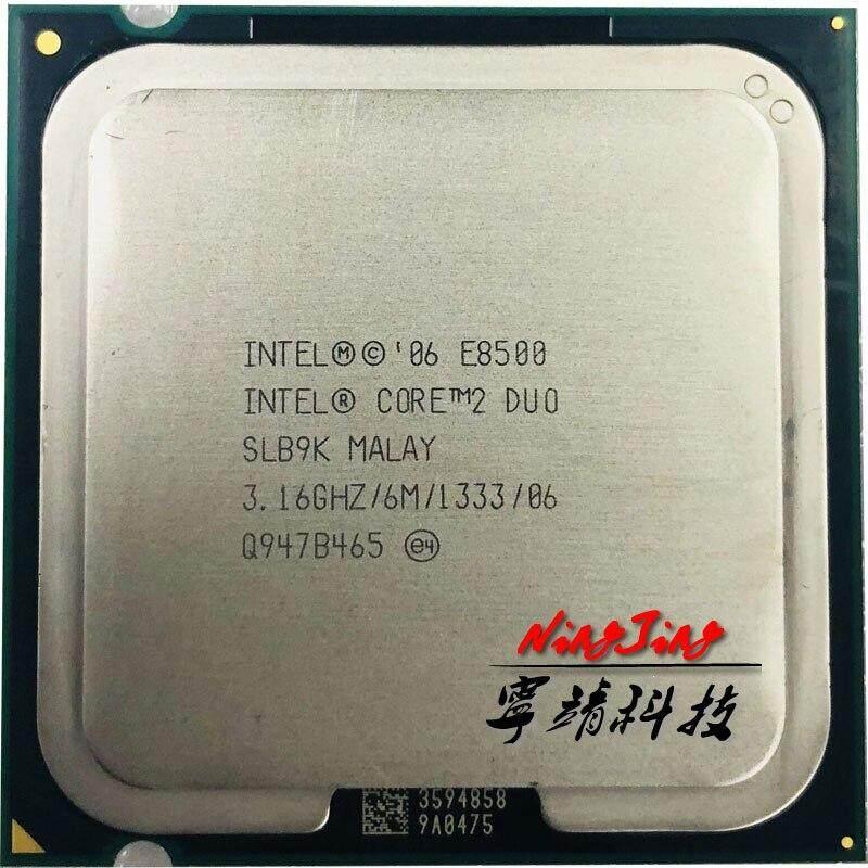 Intel Core 2 Duo E8500 3.1 GHz Dual-Core CPU Processor 6M 65W LGA 775 ch Store