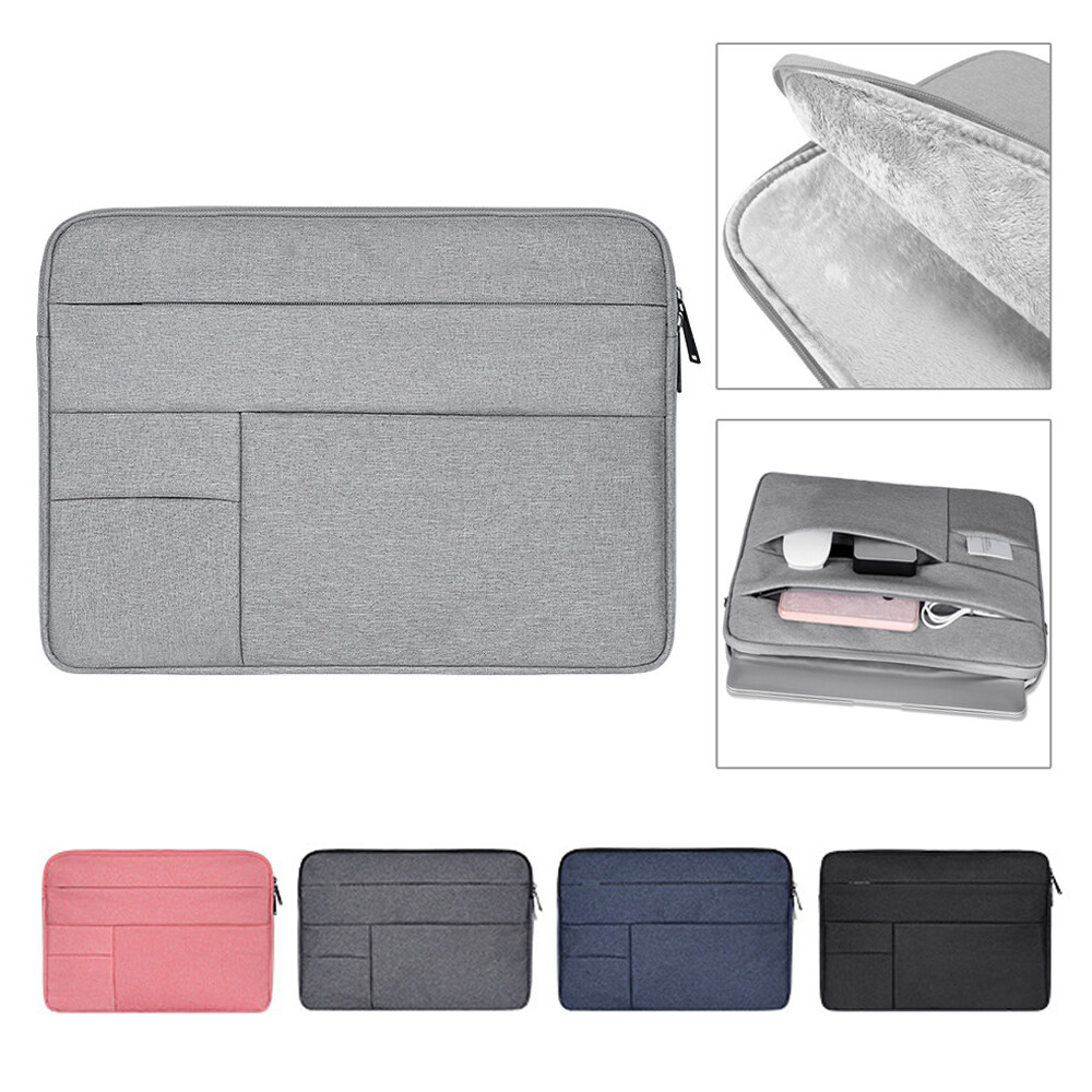 1 * Laptop Bag Laptop Bag Sleeve Case Cover Notebook Pouch Multi-Function For Macbook Air Pro Lenovo Hp Dell Asus 11 13 14 15.4 15.6 Inch.