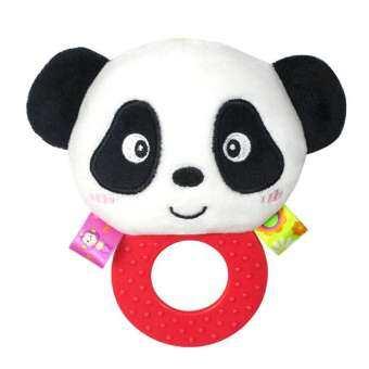 OutFlety เครื่องเล่นที่เขย่าแล้วมีเสียงสำหรับเด็กแรกเกิดกระดิ่งของเล่นเด็กวัยหัดเดินทารกแหวน Interactive น่ารักการ์ตูนสัตว์ของเล่นตุ๊กตาการศึกษาช่วงต้นของทารกของขวัญ