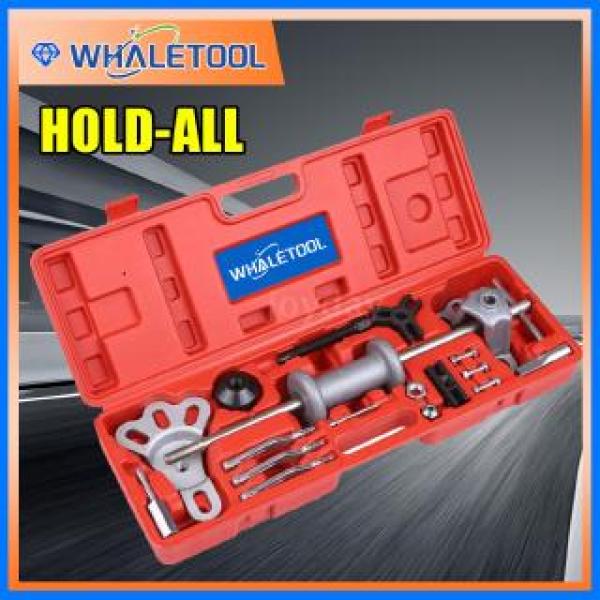 17pcs 9-Way Slide Hammer Puller Set Front Wheel Hub Bearing Remover & Rea