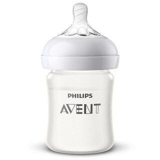 Bình Sữa Thủy Tinh Avent, Với Lớp Phủ Silicon, Dành Cho Trẻ Sơ Sinh Bình Cho Ăn Tầm Cỡ Rộng Kèm Núm Vú Giả Bình Sữa Bóp thumbnail