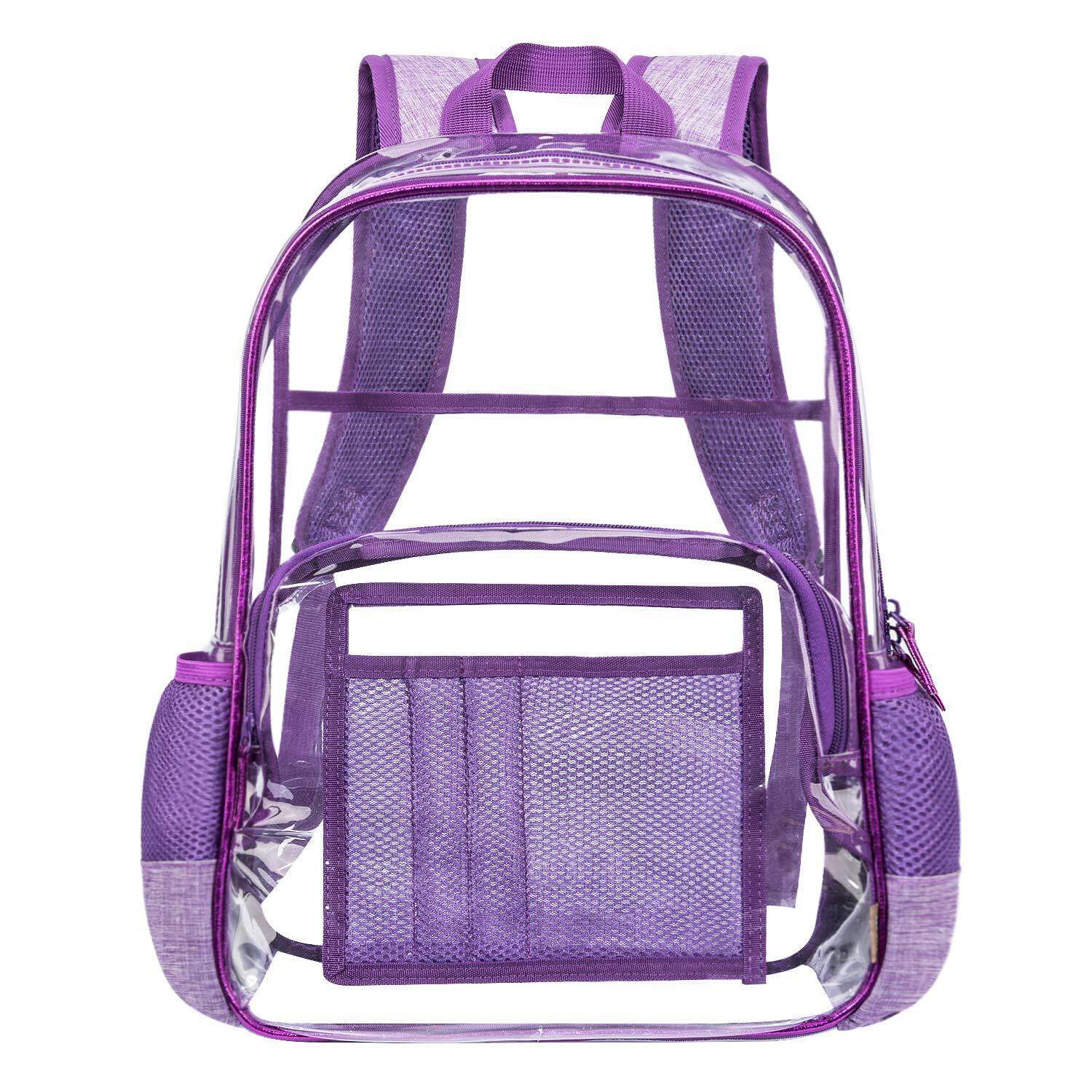 4033cdd10cd4 Clear Backpack for Women and Men Cute School Backpack for Kid Girl Boy  Clear Bookbag for