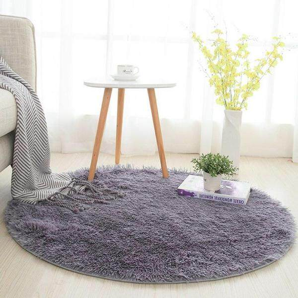 120cm Round Carpet Living Room Bedroom Floor Mats Dining Room Home Decor Sofa Chair Soft Area Rugs