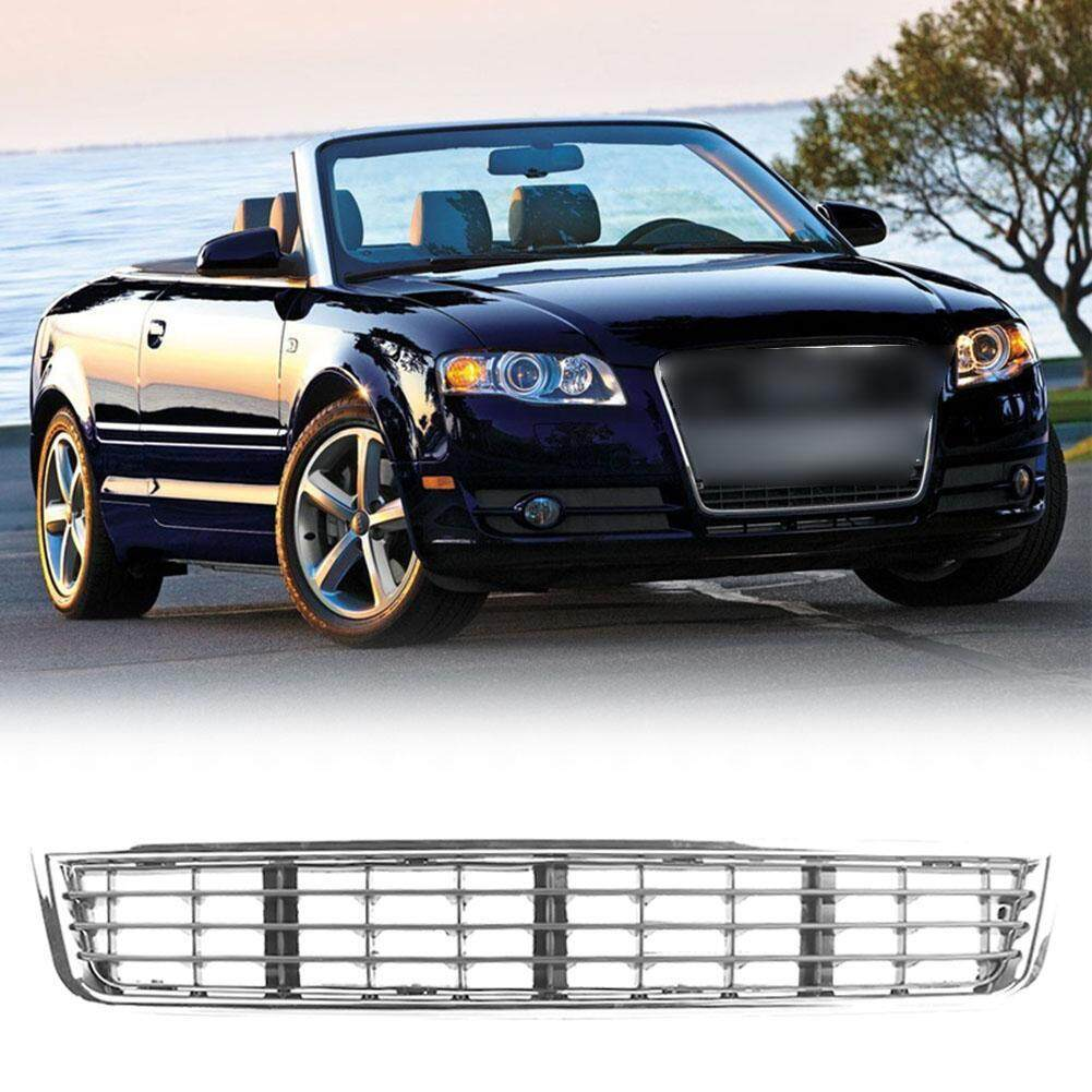 1 Pcs Car Front Bumper Center Lower Vent Grille For Audi A4/b6 2002-2005 Chrome By Car-Mall.