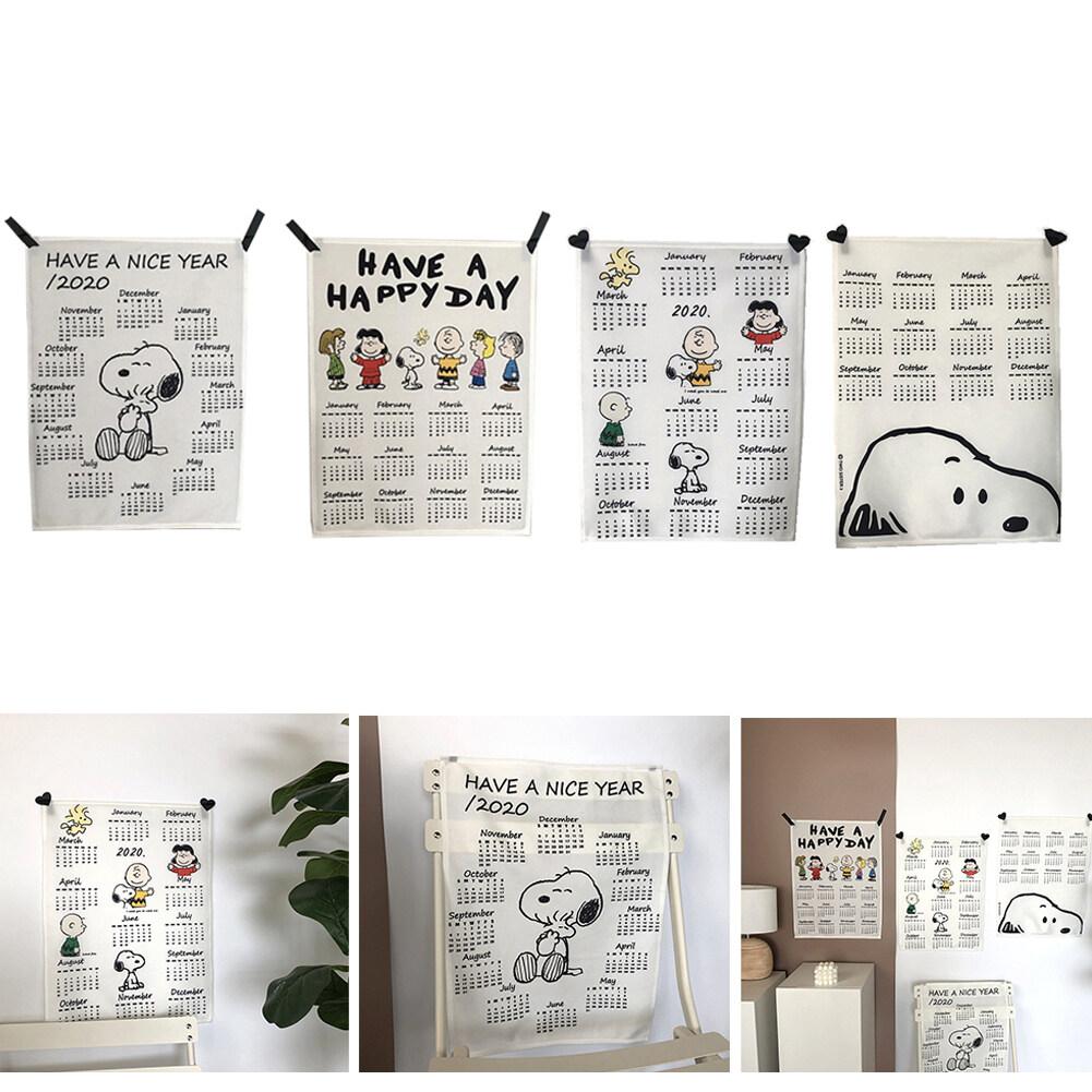 [Giảm Giá] 2020 Lịch Treo Tường Mẫu Dễ Thương Vải Vải Đồ Trang Trí Treo Lên Lịch Cho Văn Phòng Nhà Cửa Phòng Ngủ, 40X50 Cm Có Giá Tốt