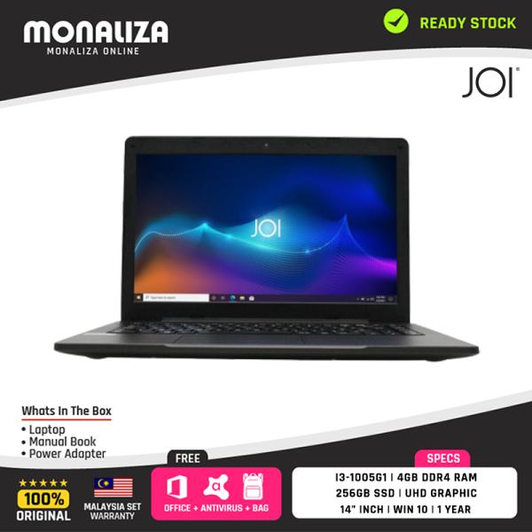 Joi Classmate 30 Laptop Black i3-1005G1/4GB/256GB/UHD/14INCH/W10/1YRS Malaysia
