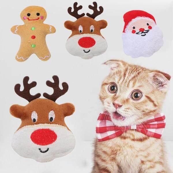 【Fairy Pet House】 3/5Pcs Chuột Động Vật Mèo Đồ Chơi Catnip Tương Tác Mèo Bóng Giáng Sinh Sản Phẩm Vật Nuôi Cho Mèo Con Đồ Chơi Cho Mèo Kitten Mèo Đồ Chơi Đồ Chơi