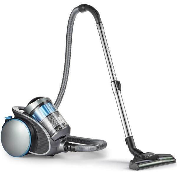 Midea C5 Canister Vacuum Cleaner Handheld Dust Cleaner Max Power Suction Eliminate Mites, Suitable for Carpet, Blue Singapore