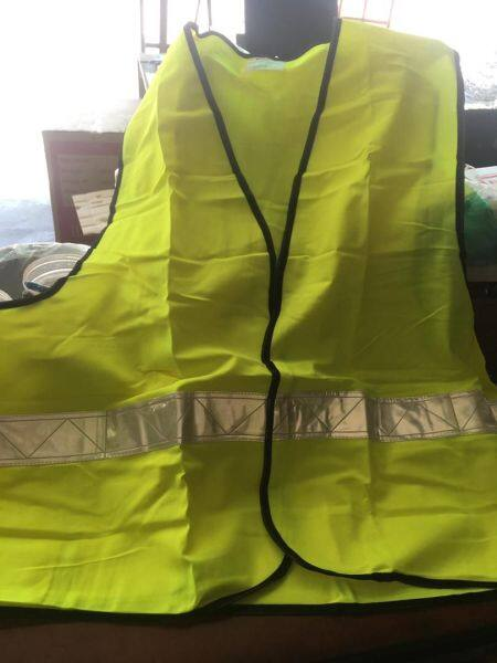 Safety Vest with Reflective Silver Picasaf