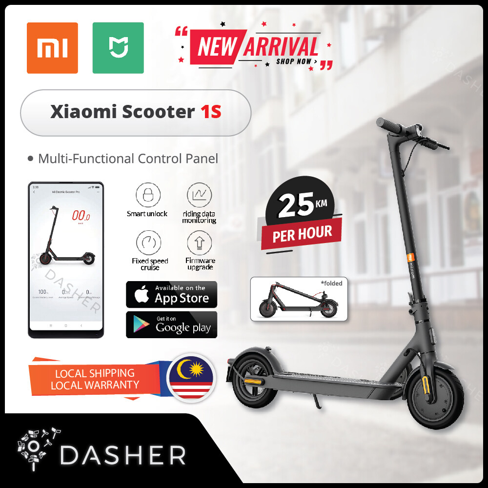 Global Version Xiaomi Mijia Mi Smart Electric Scooter Essential Lite Pro 2 1s Bike Long Range Fordable Led Scooter Smart App Malaysia 2 Pin Plug Lazada