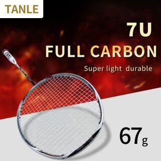 Vợt cầu lông tanle siêu nhẹ 7u vợt đánh cầu lông hoàn toàn bằng Carbon chính hãng 67g thumbnail