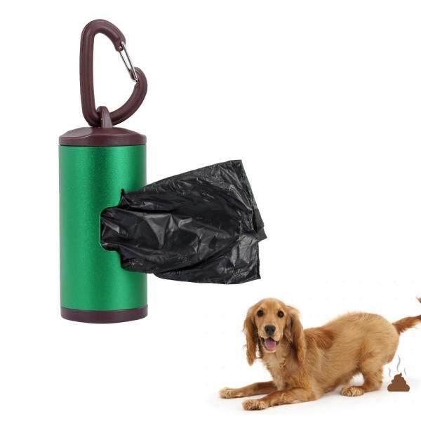 Người Giữ Phân Thú Cưng Đầy Màu Sắc Bao Đựng Chất Thải Chó Ống Hợp Kim Nhôm Bao Gồm 15 Chiếc Túi Đựng Chất Thải Có Thể Nạp Lại