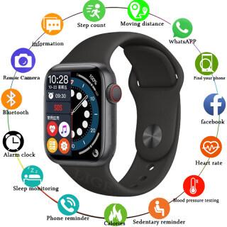 Đồng Hồ Nữ Thông Minh LIGE 2021, Thiết Bị Theo Dõi Sức Khỏe Thể Thao Chống Nước Gọi Bluetooth Đồng Hồ Thông Minh Silicon Cho Nam, Dành Cho Android Ios + Box thumbnail