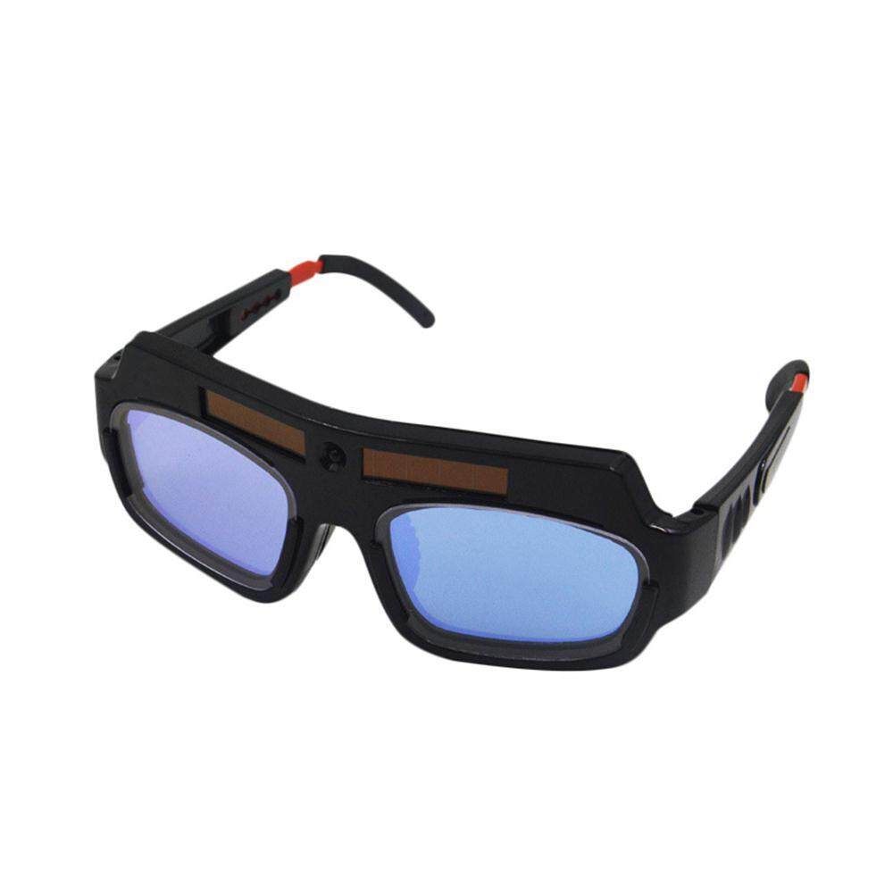 BuyInBulk Solar Powered Auto Darkening Welding Glasses Safety Protective Welding Goggles
