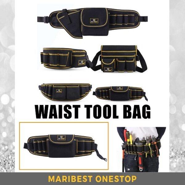 Hardware Tool Kit Bag Waist Pocket Tool Bag Pouch Tool Bag for Tools Storage