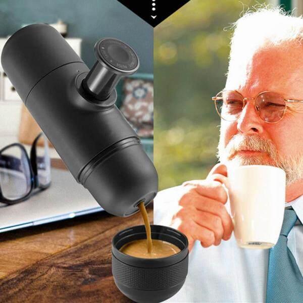 [[MuXia] 70ml Cà Phê Bằng Tay Máy Cầm Tay Mini Ép Cà Phê Espresso Cup
