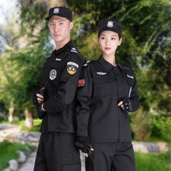 ❒✑Đồng Phục Bảo mật nhà máy tốt, đồng phục chiến đấu tay dài, thiết kế đặc biệt, vải twill