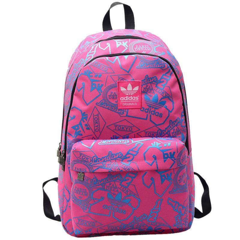 Adidas Fashion Backpack Computer Bag Student Couple Bag Men and Women  Travel Bag 31eb7708c6