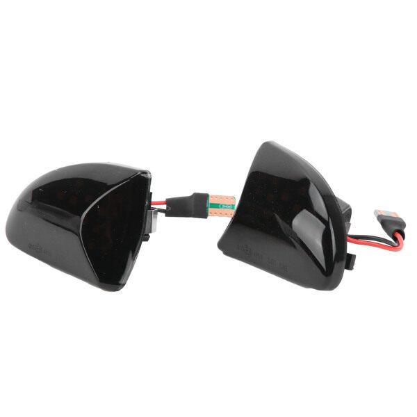 Đèn LED Báo Hiệu Bên Hông Đèn Xi Nhan Có Vỏ Màu Khói Thay Thế Cho Benz Smart W451 2007 ‑ 2014