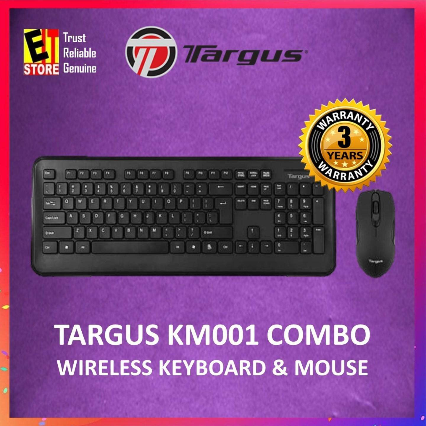 TARGUS KM001 WIRELESS COMBO KEYBOARD + WIRELESS MOUSE Malaysia