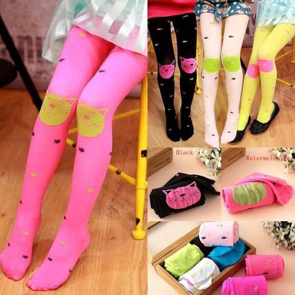 f0738c8e7db2 Hot Sellers Spring Autumn Children Girl Leggings Lovely Cute Cartoon Velvet  Pantyhose