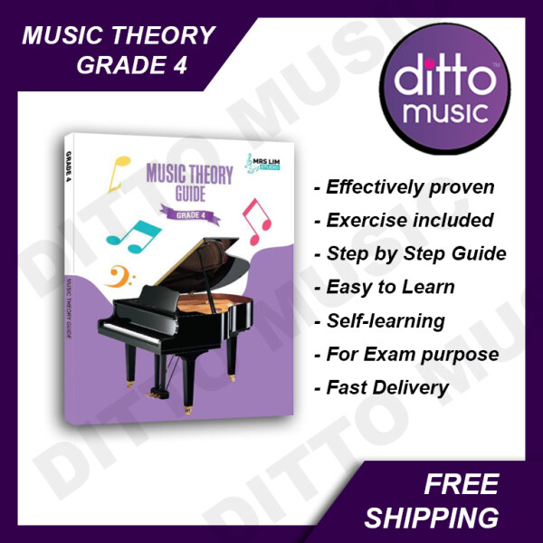 【Rdy Stock】 Music Theory Guide Grade 4 by Mrs Lim Studio. Easy Learning. Fun and Interesting. Music Theory Exam. Proven Effective. Malaysia