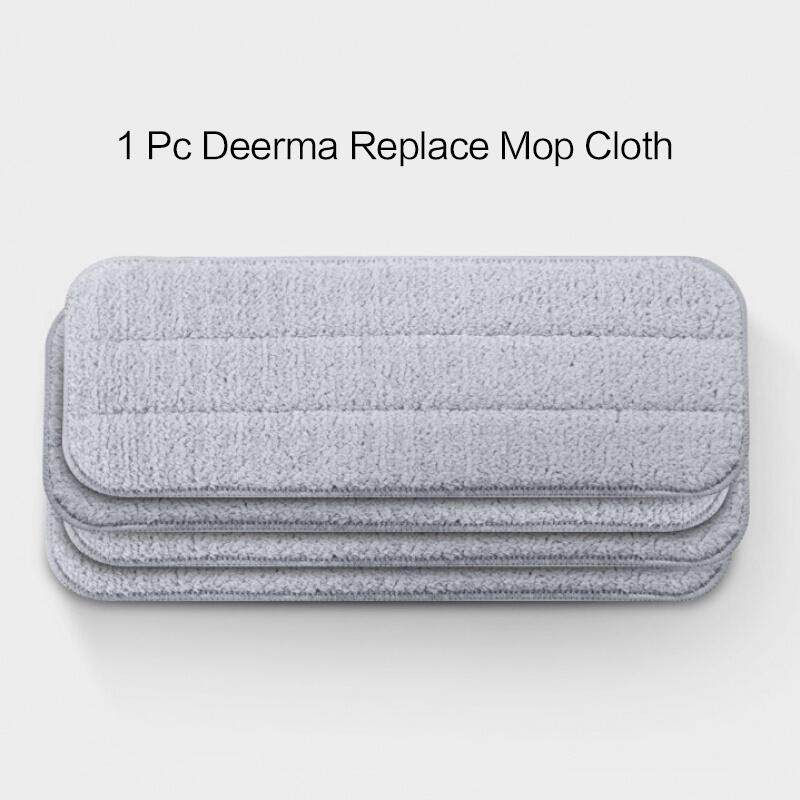 Xiaomi Deerma Water Spraying Sweeper Mijia Floor Cleaner Carbon Fiber Dust Mops 360 Rotating Rod 350ml Tank Waxing Mop