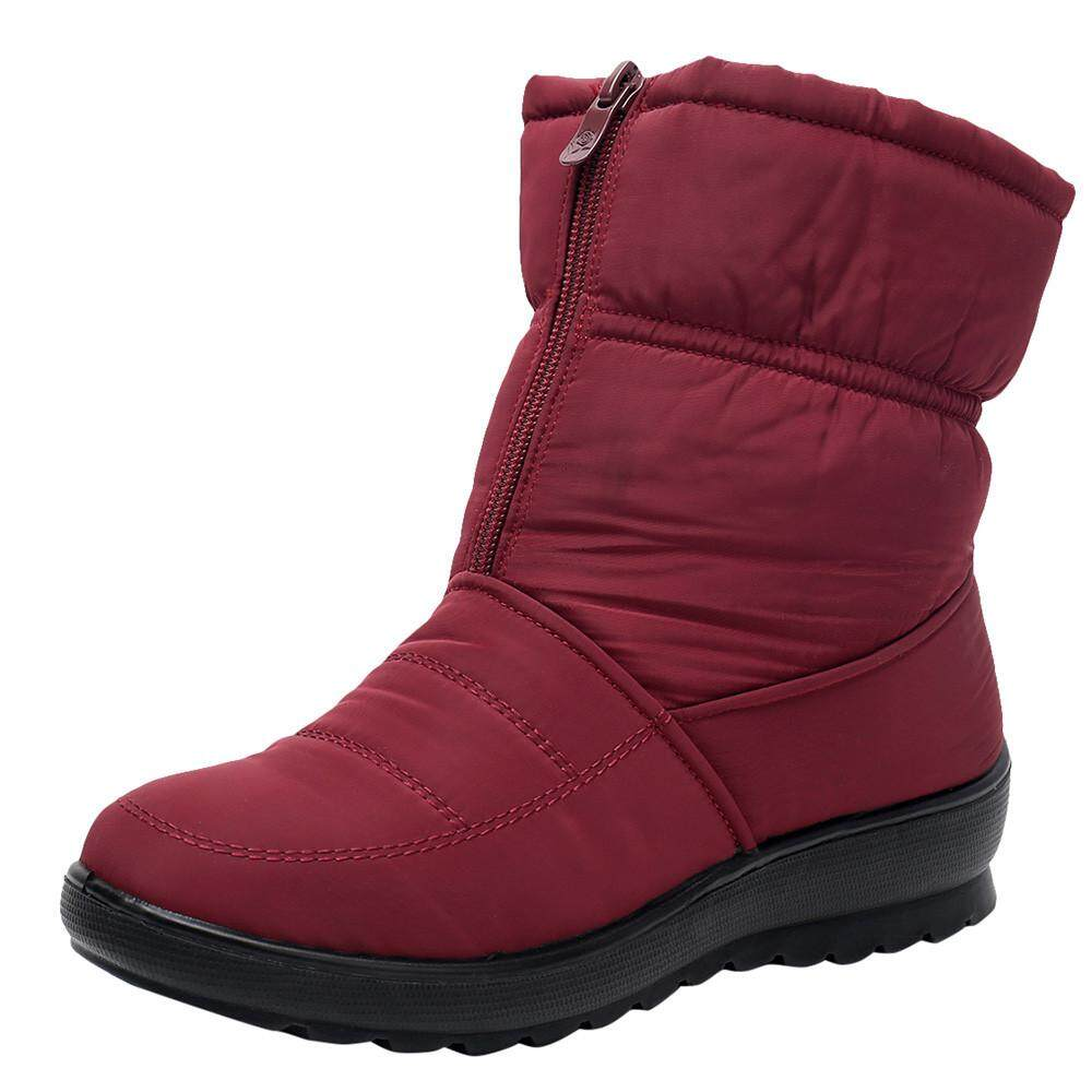 Fashion Shoes Womens Ladies Winter Waterproof Martin Short Snow Boots Footwear Warm Shoes By Fashion Deal.